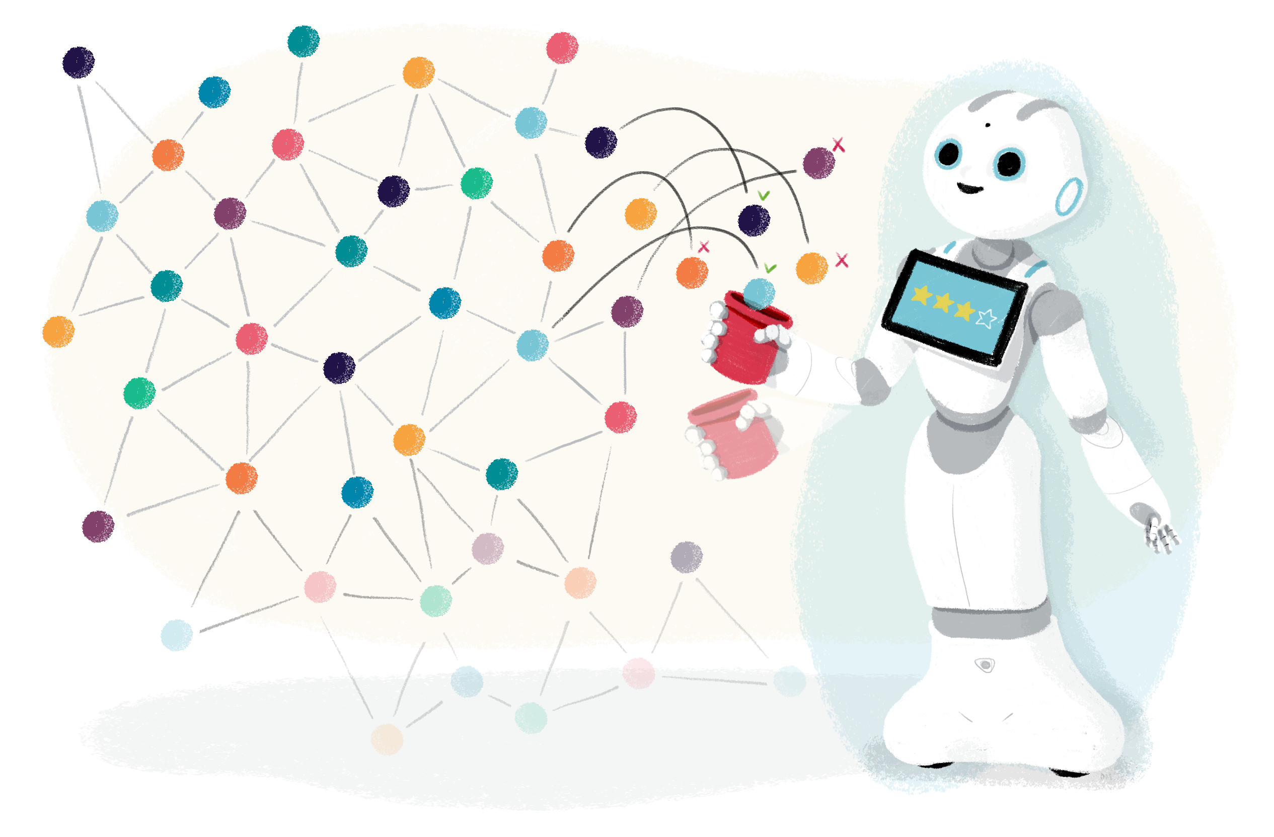 Pepper plays ball-in-cup with machine learning